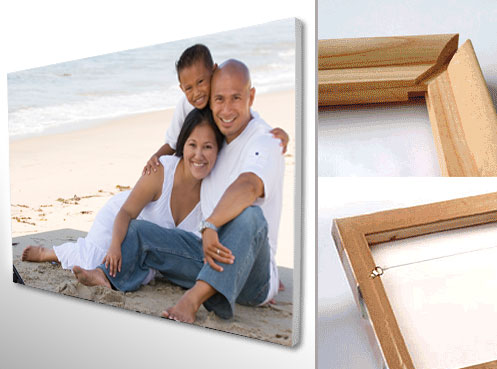 Printed on 100% cotton canvas, framed on wooden stretcher bars.